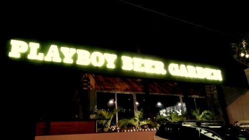 Playboy Beer Garden
