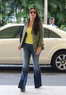 Kareena Kapoor Khan wearing flared denims