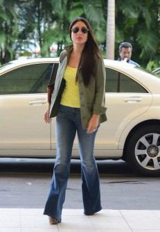 Kareena Kapoor Khan wearing flared denims